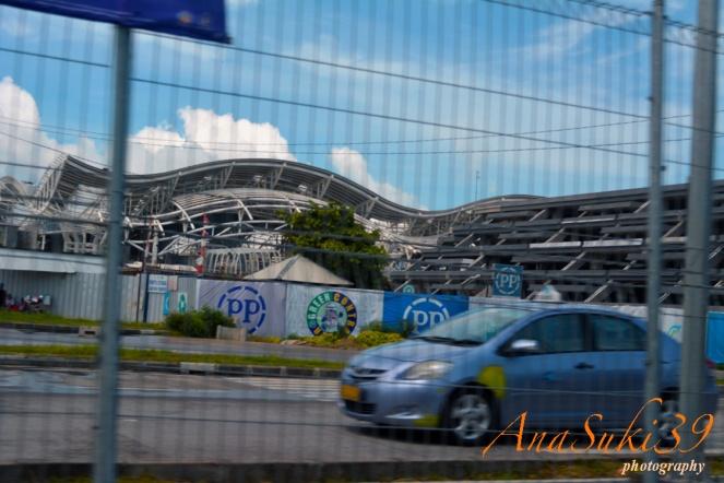 New Ngurah Rai Airport looks in Oct 2013